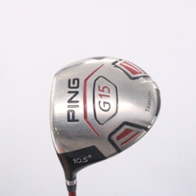 Ping G15 Driver 10.5 Degrees TFC 149 Graphite Stiff Flex Left-Handed 63452A