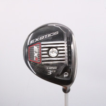 Tour Edge Exotics EX9 Long 3 Wood 13 Degrees Aldila Rogue X-Stiff Flex 63475A