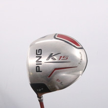 PING K15 SF Tec Driver 12 Degrees TFC 149 Stiff Flex Left-Handed 63591G