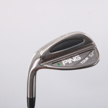 Ping Tour Black Nickel Chrome Wedge 52 Deg Green Dot CS Lite Stiff LH 63397D