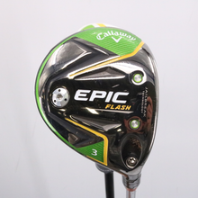 2019 Callaway EPIC Flash 3 Wood 15 Deg Even Flow Graphite Senior Flex 63950G