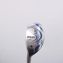 PING G5 4 Hybrid 22 Degrees Graphite Aldila Shaft Stiff Flex Left-Handed 64610G