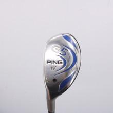 PING G5 3 Hybrid 19 Degrees Graphite Aldila Shaft Stiff Flex Left-Handed 64611G