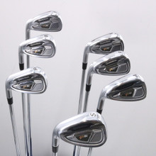 TaylorMade PSi Iron Set 6-P,A,S Rifle 6.0 Steel Stiff Flex Left-Handed 64533A