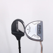 """Ping Vault Oslo Slate Precision Milled Putter 34"""" Black Dot Headcover 64729A"""