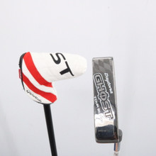 """TaylorMade Ghost Tour Black Daytona Putter 35"""" Headcover Right-Handed 64704G"""