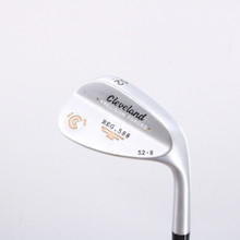 Cleveland 588 Precision Forged Satin Wedge 52 Degrees 52.8 Steel Shaft 64892D