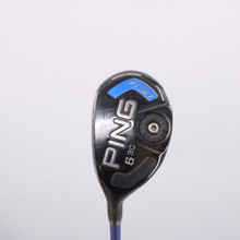 PING G30 6 Hybrid 30 Degrees Graphite TFC 419 SR Senior Flex Left-Handed 65336G