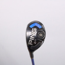 PING G30 4 Hybrid 22 Degrees Graphite TFC 419 SR Senior Flex Left-Handed 65337G