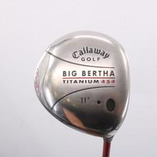 Callaway Big Bertha Ti 454 Driver 11 Degrees RCH 65w Regular Flex 65449A