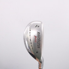 Tour Edge Bazooka Jmax Iron-Wood 4 Hybrid 24 Deg Steel Stiff Flex 66252D