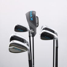 2019 Cobra F-Max Superlite Combo Iron Set 5H 6-P,S Graphite Ladies Flex 66193A