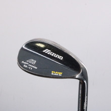 Mizuno MP Series Raw Black OX Wedge 56 Degrees 56.11 Dynamic Gold Steel 66307D