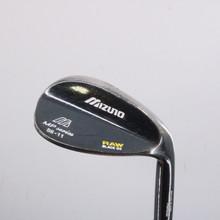 Mizuno MP Series Raw Black OX Wedge 56 Degrees 56.11 Dynamic Gold Steel 66307D