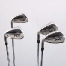 Ping S59 7-W Iron Set Silver Dot Steel Shaft Stiff Flex Left-Handed 66513A