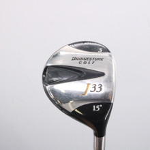 Bridgestone Golf J33 3 Wood 15 Degrees Matrix Graphite Stiff Flex  66466G