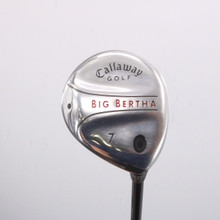 Callaway Big Bertha 7 Fairway Wood RCH 75w Senior Flex Right-Handed 66680D
