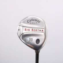 Callaway Big Bertha 11 Fairway Wood RCH 75w Senior Flex Right-Handed 66681D