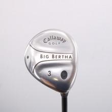 Callaway Big Bertha 3 Fairway Wood Graphite Regular Flex Right-Handed 66682D