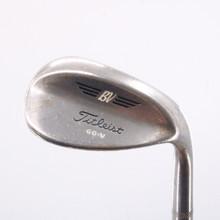 Titleist BV Wedge 60 Degrees Steel Dynamic Gold Sensicore Stiff Flex 66922A