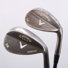 Callaway Forged Vintage Wedge Set 52 & 56 Degrees Graphite Shaft 67081G