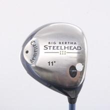 Callaway Big Bertha Steelhead III Driver 11 Degree System III Ladies Flex 67210G