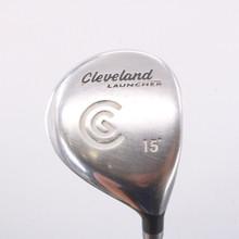 Cleveland Launcher 3 Fairway Wood 15 Degrees Graphite Gold Regular Flex 67136A