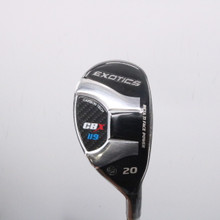 Tour Edge Exotics CBX 119 Hybrid 20 Degrees UST Recoil F3 Regular Flex 67238G