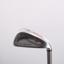 Wilson Fat Shaft II Individual 5 Iron Graphite Senior Flex Right-Handed 67321W