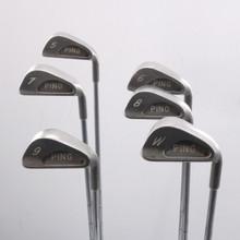 Ping Karsten 1 Iron Set 5-W Black Dot Steel Stiff Flex Right-Handed 67404A