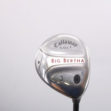 Callaway Big Bertha 3 Fairway Wood 16 Degrees RCH 75w Senior Flex 67503G