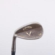 Callaway Forged Vintage Wedge 56 Degrees Steel Shaft Left-Handed 67805G