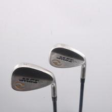 MGS Golf Satin Chrome Wedge Set 56 & 60 Degrees MFS 58+ Graphite Regular 67815G