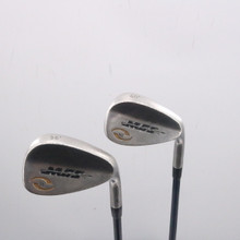 MGS Golf Satin Chrome Wedge Set 56 & 60 Degrees MFS 58+ Graphite Regular 67815G