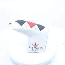 Big Teeth Golf Blade Putter Cover Headcover HC-2300D