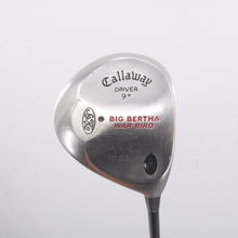 Callaway Big Bertha S2H2 Driver 9 Degrees Innovative Graphite Stiff Flex 68116G