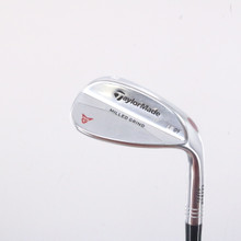 TaylorMade Milled Grind Satin Chrome Wedge 58 Degrees LB 09 Dynamic Gold 68129G