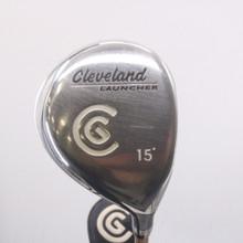 Cleveland Launcher 3 Fairway Wood 15 Degrees Graphite Gold Regular Flex 68182G