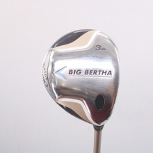 Callaway Big Bertha 3W Fairway Wood Graphite 55w Womens Ladies Flex 68327A