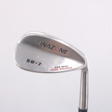 Inazone Low Bounce CNC Spin Wedge 56 Degrees 56.7 Graphite Ladies Flex 68410D