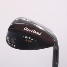 Cleveland 588 RTX 2.0 Black Satin Wedge 54 Degrees 54.10 Dynamic Gold 68437D