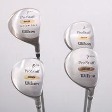 Wilson Pro Staff WD Complete Wood Set 1,3,5,7 Graphite Ladies Flex 68598A