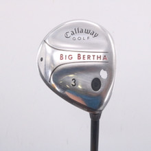 Callaway Big Bertha 3 Fairway Wood 16 Degrees RCH 75w Stiff Flex 68486G