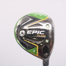 2019 Callaway EPIC Flash 3 Wood 15 Degrees Even Flow Graphite Ladies Flex 68511G
