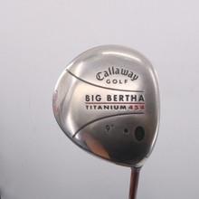 Callaway Big Bertha Ti 454 Driver 9 Degrees RCH 65w Regular Flex 68863G