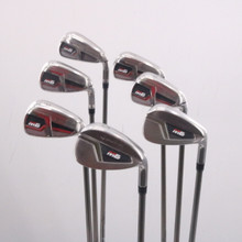 TaylorMade M6 Iron Set 6-P,A,S Graphite Recoil F2 Senior Right-Handed 68864G
