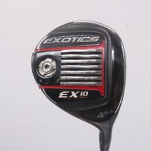 Tour Edge Exotics EX10 4 Fairway Wood 16.5 Deg Graphite Regular Flex 68660D