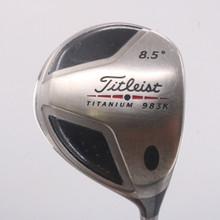 Titleist 983K Driver 8.5 Degrees Graphite Design YS-6 Stiff Flex 68664D