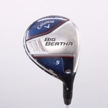 Callaway Big Bertha 5 Wood 18 Degrees Fubuki A Senior Flex 69081G