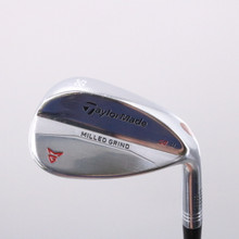 TaylorMade Milled Grind Satin Chrome Wedge 58 Degrees SB 11 Dynamic Gold 68727D